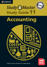 Study and Master Accounting Study Guide Grade 11