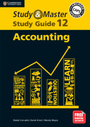 Study and Master Accounting Study Guide Grade 12