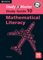Study and Master Mathematical Literacy Study Guide Grade 10