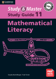 Study and Master Mathematical Literacy Study Guide Grade 11 (Blended) English