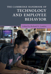 The Cambridge Handbook of Technology and Employee Behavior