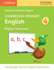 Cambridge Primary English Stage 4 Cambridge Elevate Digital Classroom (1 Year)