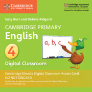 Cambridge Primary English Stage 4 Cambridge Elevate Digital Classroom Access Card (1 Year)