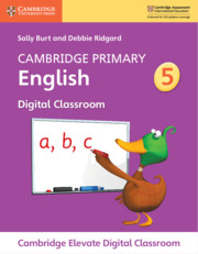 Cambridge Primary English Stage 5 Cambridge Elevate Digital Classroom (1 Year)
