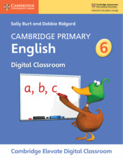 Cambridge Primary English Stage 6 Cambridge Elevate Digital Classroom Access Card (1 Year)