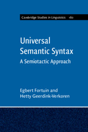 Universal Semantic Syntax