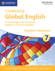 Cambridge Elevate Teacher's Resource Access Card