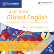 Cambridge Global English Stage 7 Cambridge Elevate Teacher's Resource Access Card