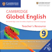 Cambridge Global English Stage 9 Cambridge Elevate Teacher's Resource Access Card