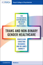 Trans and non-binary gender healthcare for psychiatrists, psychologists, and other health professionals