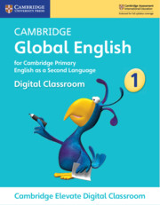 Cambridge Global English Stage 1 Cambridge Elevate Digital Classroom (1 Year)