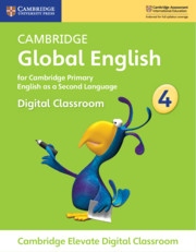 Cambridge Global English Stage 4 Cambridge Elevate Digital Classroom (1 Year)
