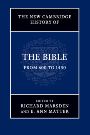 The New Cambridge History of the Bible
