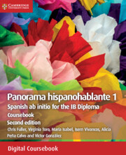 Panorama Hispanohablante 1 Coursebook Cambridge Elevate Edition (2 Years)