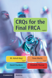CRQs for the Final FRCA
