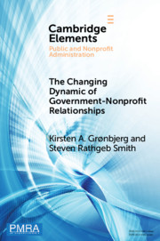 The Changing Dynamic of Government–Nonprofit Relationships