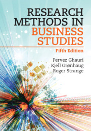 Research Methods in Business Studies