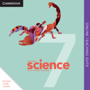 Cambridge Science for the Victorian Curriculum Year 7 Online Teaching Suite (Card)