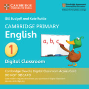 Cambridge Primary English Stage 1 Cambridge Elevate Digital Classroom Access Card (1 Year)