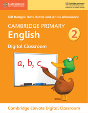 Cambridge Primary English Stage 2 Cambridge Elevate Digital Classroom (1 Year)