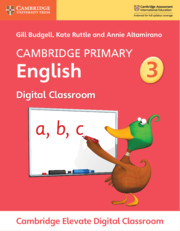 Cambridge Primary English Stage 3 Cambridge Elevate Digital Classroom (1 Year)