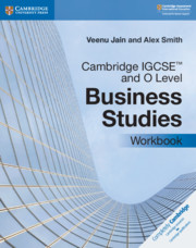 Cambridge IGCSE™ and O Level Business Studies Workbook