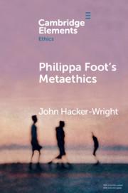 Philippa Foot's Metaethics