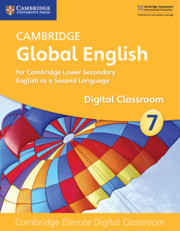 Cambridge Global English Stage 7 Cambridge Elevate Digital Classroom (1 Year)