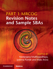 Part 1 MRCOG Revision Notes and Sample SBAs