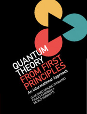 Quantum Theory from First Principles by Giacomo Mauro D'Ariano