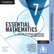 Essential Mathematics for the Victorian Curriculum Year 7 Digital Card