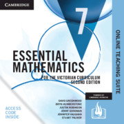 Essential Mathematics for the Victorian Curriculum Year 7 Online Teaching Suite Card