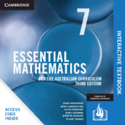 Essential Mathematics for the Australian Curriculum Year 7 Digital Card