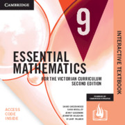 Essential Mathematics for the Victorian Curriculum Year 9 Digital Card