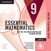 Essential Mathematics for the Victorian Curriculum Year 9 Online Teaching Suite Card