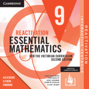 Essential Mathematics for the Victorian Curriculum Year 9 Reactivation Card