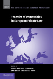 Transfer of Immovables in European Private Law