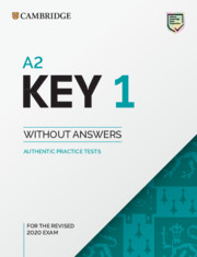 A2 Key 1 for Revised Exam from 2020