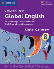 Cambridge Global English Stage 8 Cambridge Elevate Digital Classroom (1 Year)
