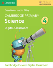 Cambridge Primary Science Stage 4 Cambridge Elevate Digital Classroom (1 Year)