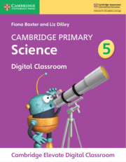 Cambridge Primary Science Stage 5 Cambridge Elevate Digital Classroom (1 year)
