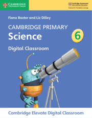 Cambridge Primary Science Stage 6 Cambridge Elevate Digital Classroom (1 Year)