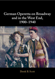 German Operetta on Broadway and in the West End, 1900–1940