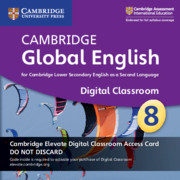 Cambridge Global English Stage 8 Cambridge Elevate Digital Classroom Access Card (1 Year)