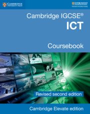Cambridge IGCSE® ICT Coursebook Revised Edition Cambridge Elevate Edition (2 Years)