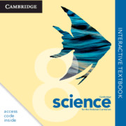 Cambridge Science for the Victorian Curriculum Year 8 Digital (Card)