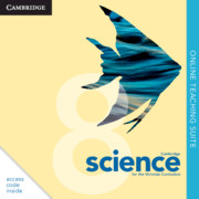 Cambridge Science for the Victorian Curriculum Year 8 Online Teaching Suite (Card)