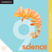 Cambridge Science for the Victorian Curriculum Year 9 Online Teaching Suite (Card)