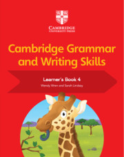Cambridge Grammar and Writing Skills Learner's Book 4