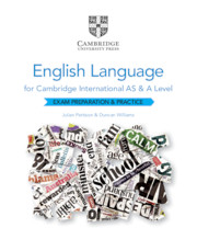 Cambridge International AS and A Level English Language
